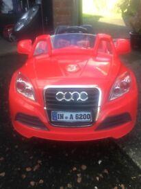 Audi Battery Powered Car