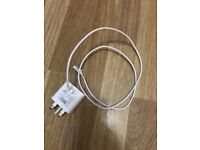 White Samsung charger