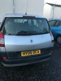 For sale Renault grand scenic 7 seater 06