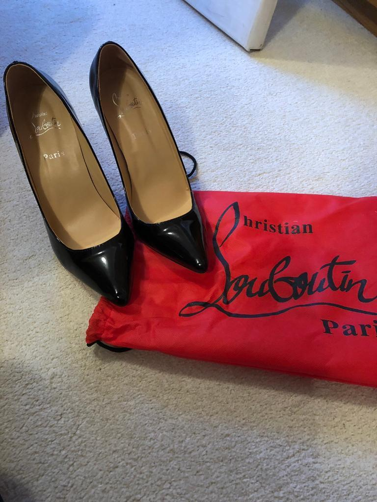 62f1e843a84 Black Christian Louboutin Shoes size 7 UK | in East End, Glasgow | Gumtree