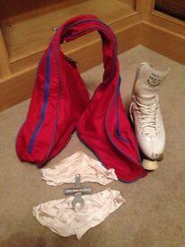 Trezeta Roller Skates size 40/UK 5 with bag