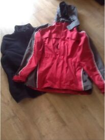 Mens medium winter coat (as new worn once only)