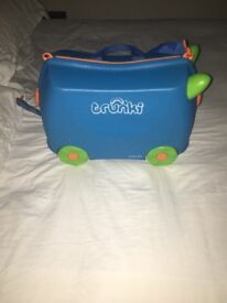 Kids Blue Trunki - good condition, outgrown, great for kids aged 2-5 yrs