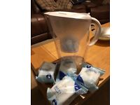 Brita Water Jug with 4 x New Mantra Filters
