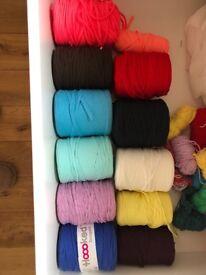 TShirt Yarn / recycled cotton