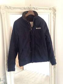 Hollister Navy Men's Coat / Jacket Large