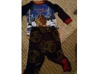 Boys Pyjamas Age 12-18 months