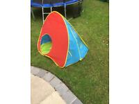 Pop up play tent kids