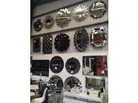 Warehouse selling Mirrors , Bedside Tables , Tables , Chair , Ornaments , Garden Furniture
