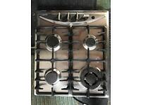 Beaumatic 4 ring gas hob & wok stand
