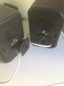 JBL Control 1 Speakers x2