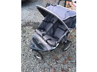 Out n About Nipper 360 Double All Terrain Pushchair Buggy with Accessories