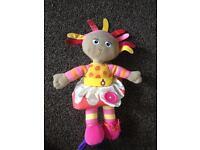 Upset Daisy Night Garden soft activity baby toy