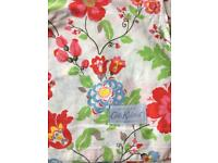 Cath Kidston Pop flowers style King Size duvet cover New