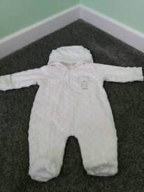 Newborn Pramsuit - Excellent condition
