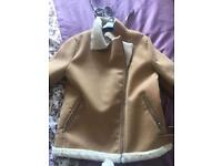 MISSGUIDED size 14 faux jacket,