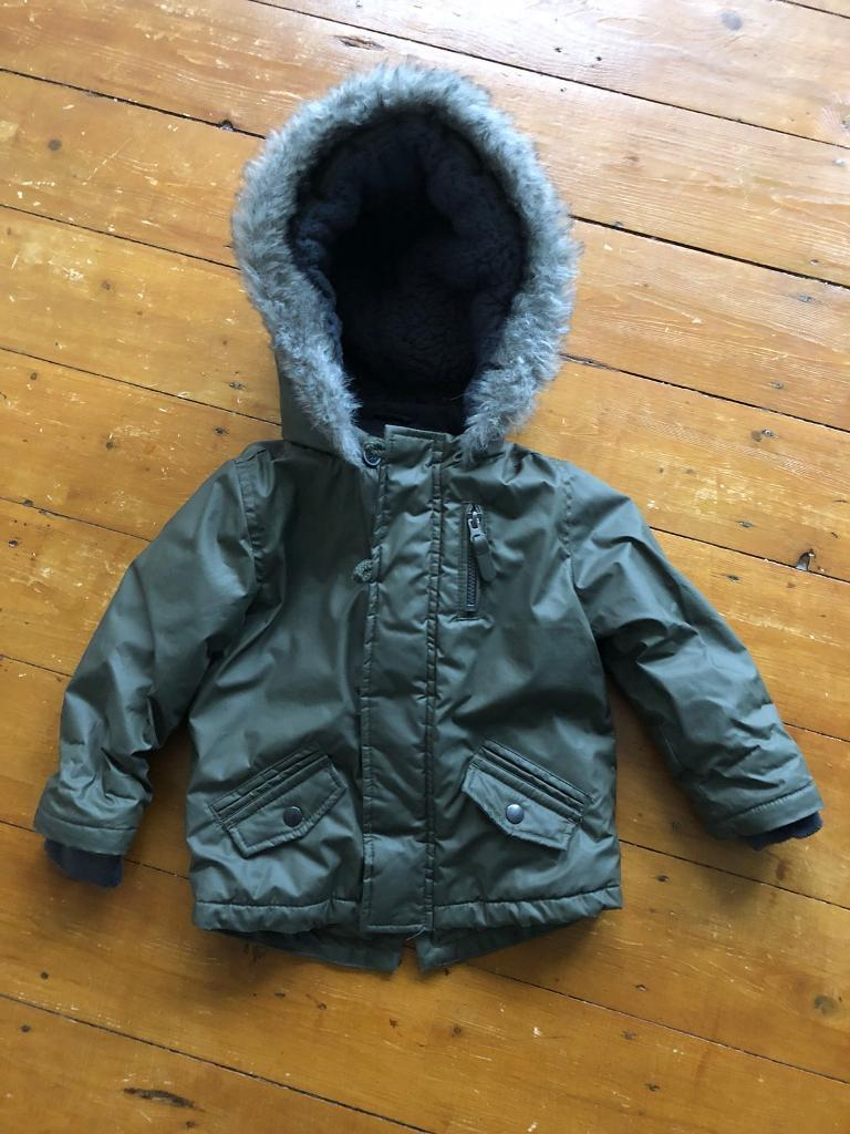 0cd13c164 Boys 18-24 month winter coat parka jacket fleece lined baby   in Hull ...