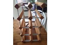 Freestanding wine rack - 8 bottle