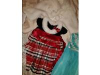 Large bundle of girls trendy clothes and shoes