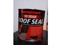 Thompson's roofing sealant, 2.5 litres.