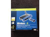 Linksys Wireless -G Network Kit