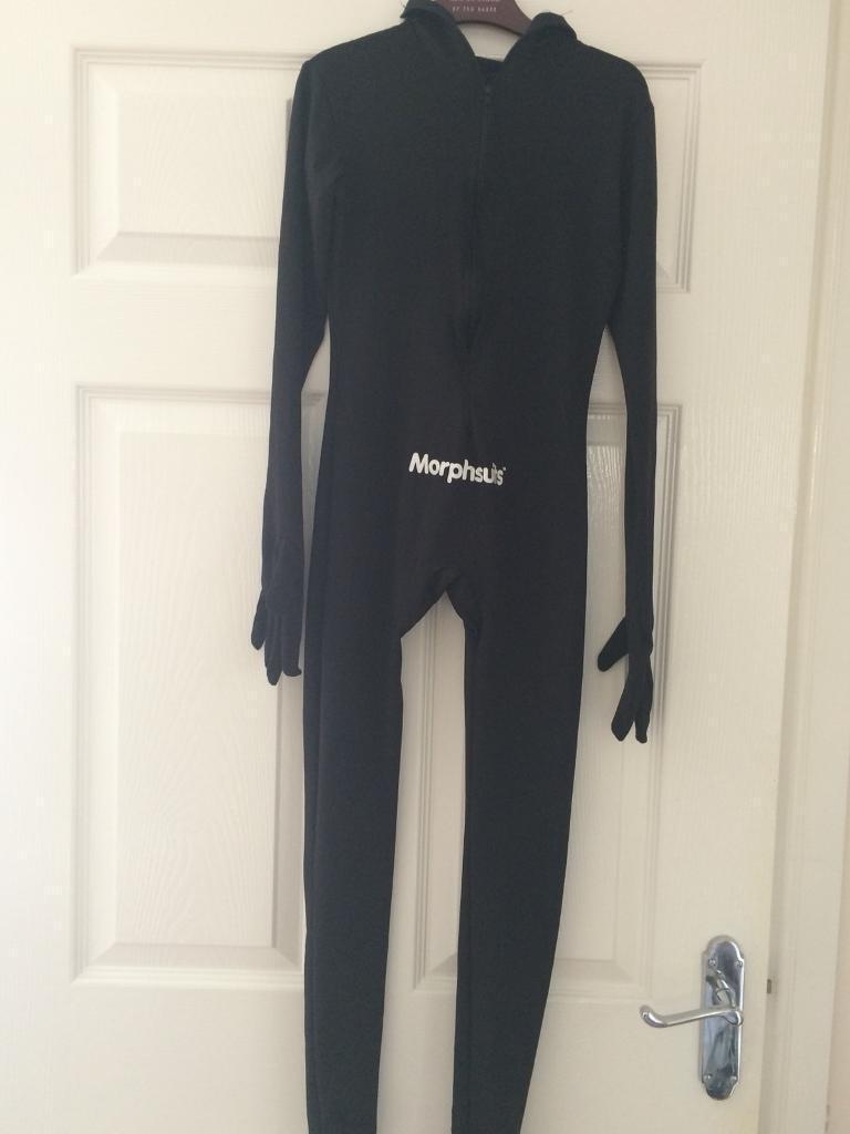 Black morph suit