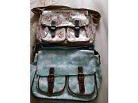 Lovely condition satchel bags x 2