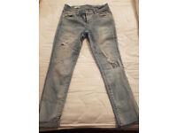 ladies Gap skinny jeans, size 8
