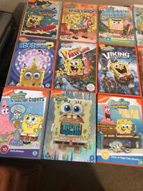 Spongebob dvd £1.00 each