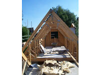 Roof Attic Trusses, Structural, 12 off, Gatwick Area - £180 each, fitted at 600mm centres, collect