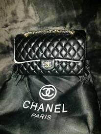 Chanel double flap handbag