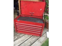 Snap on top box 5 drawer
