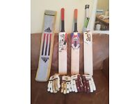 Cricket bat and gloves for sale