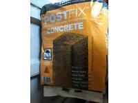 17 bags of postcrete
