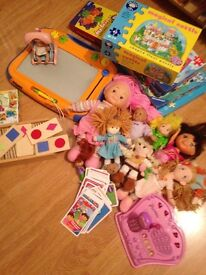 Huge collection of young girls toys