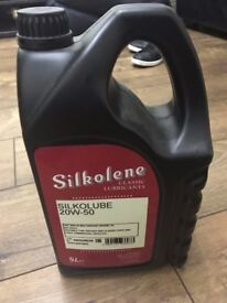 Silkolene Classic Engine Oil 20W - 50 Silkolube NEW car motorbike