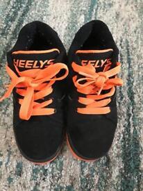 Boys heelys size 2
