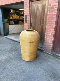 Allibaba giant bamboo container/feature