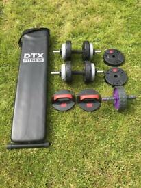 Fitness, Training, Build Muscle, Weights, Home Gym Equipment