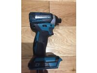 Makita dtd154 brushless impact driver