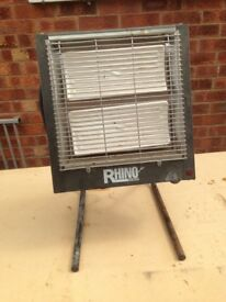 Rhino ceramic heater