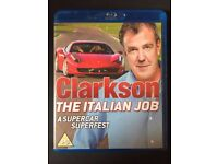 Clarkson - The Italian Job Blu-ray (3 Disc-set) Condition: Excellent