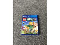 PS4 LEGO worlds game.
