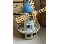 Sylvanian Windmill and families