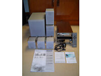 PANASONIC DVD HOME THEATRE SYSTEM, COMPLETE WITH INSTRUCTIONS AND REMOTE