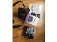 Canon 550D DSLR digital camera, 2 lenses, tripod, flashgun and extras