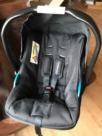 Pram/ pushchair and first car seat