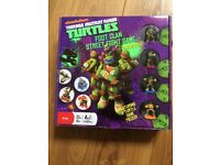 New Ninja Turtle Board Game Foot Clan Street Fight Game Age 6 Years Plus Nickelodeon Sealed Unopened