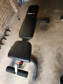 Bodymax CF430 Bench with attachments