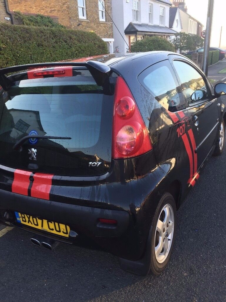 peugeot 107xs only 1495£